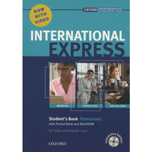 International Express Elementary 2010 Student's Book (student's book and DVD-ROM)