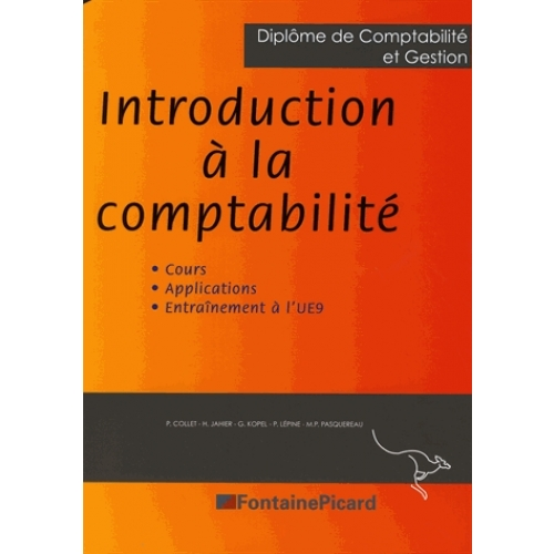 INTRODUCTION À LA COMPTABILITÉ DCG