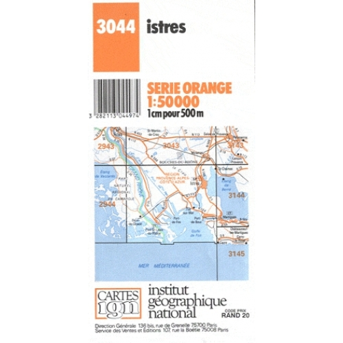 Istres - 1/50 000