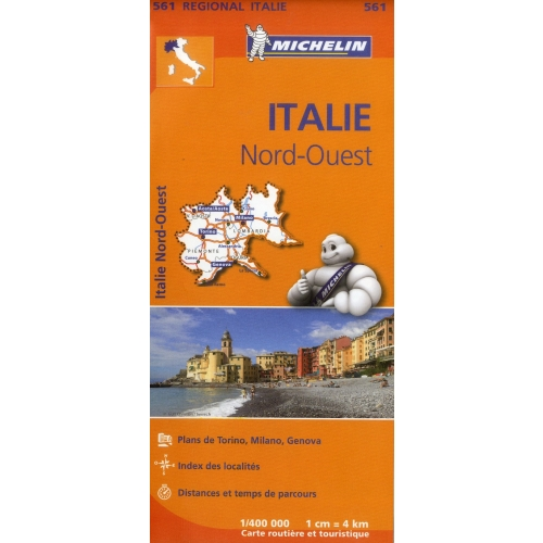 Italie Nord-Ouest - 1/400 000