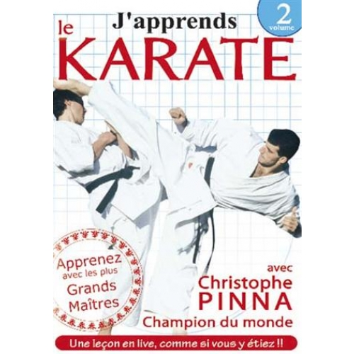 J'APPRENDS LE KARATE, VOL. 2