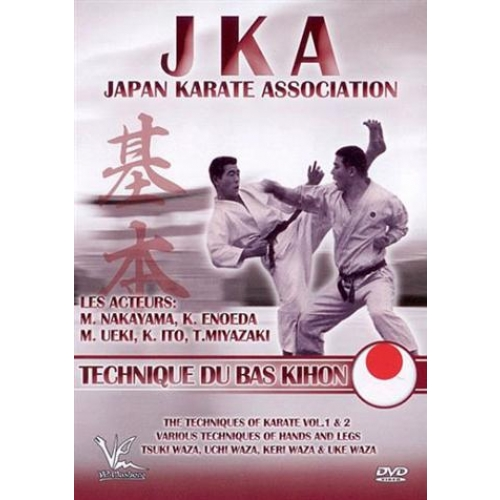 JKA TECHNIQUE DU BAS KIHON