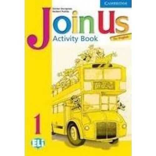 Join us for English level 1 Activity Book