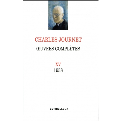 Oeuvres complètes - Volume 15, 1958