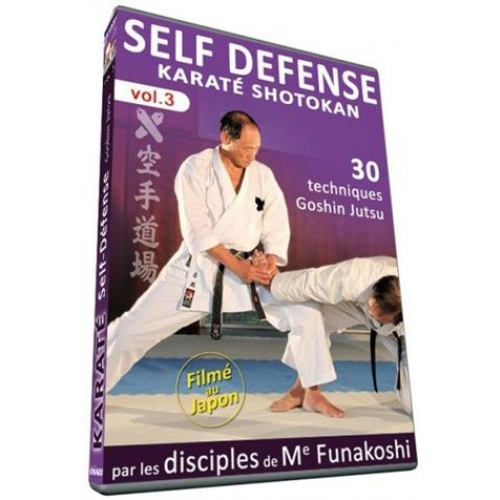 KARATE DO SHOTOKAN SELF-DEFENSE, VOL. 3