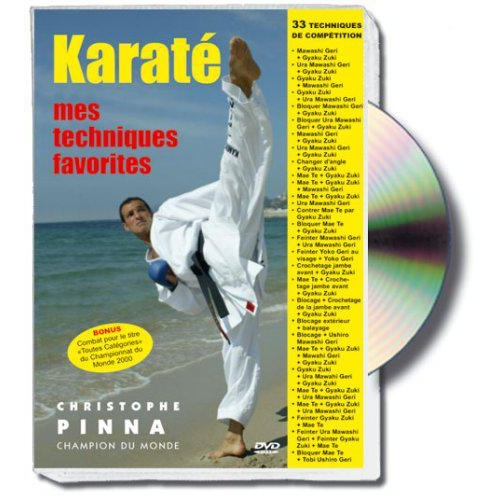 KARATE, MES TECHNIQUES FAVORITES, CHRISTOPHE PINNA