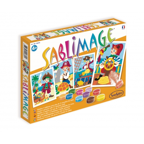 Kit créatif Sablimage - pirates