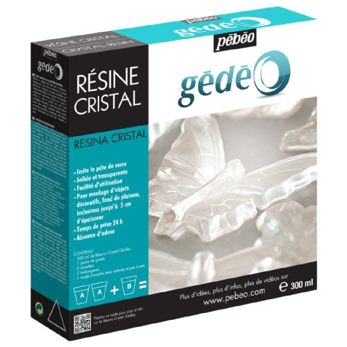 Kit resine cristal - 300ml