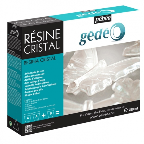 Kit resine cristal - 750 ml