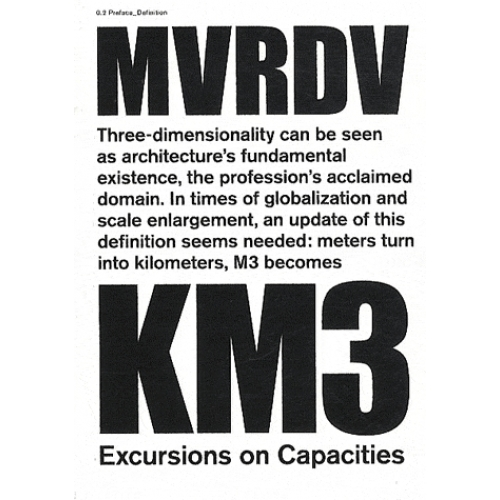 KM3 : Excursions on capacity