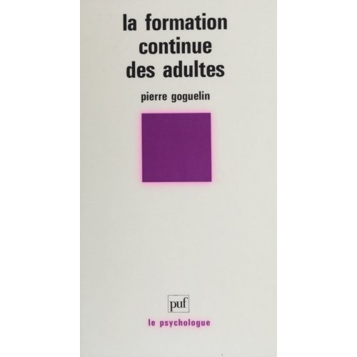 La Formation continue des adultes