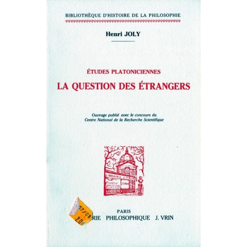 La question des étrangers