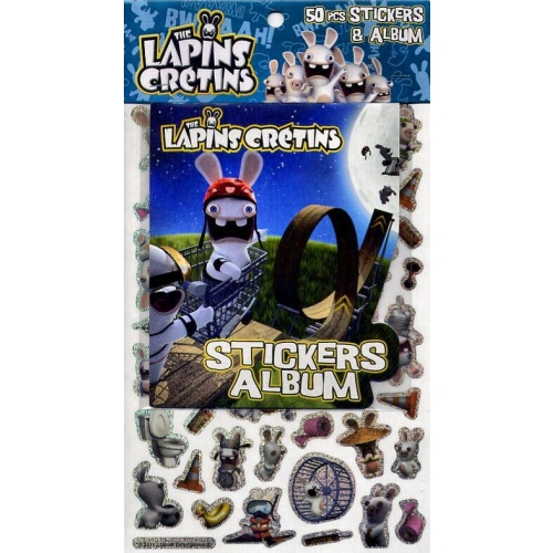 The Lapins Crétins - 50 stickers + album