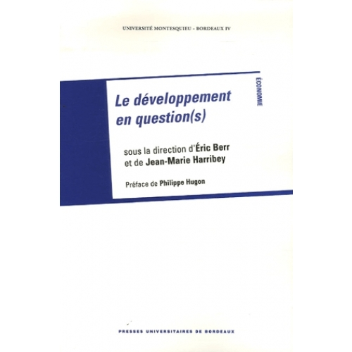 Le développement en question(s)