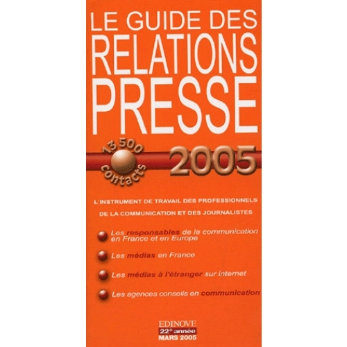 Le Guide des Relations Presse