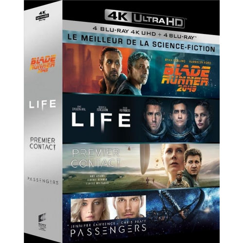 LE MEILLEUR DE LA SCIENCE-FICTION -  4K  COFFRET