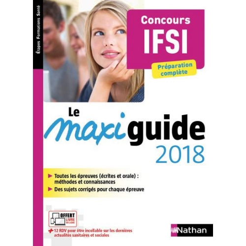 Le maxi guide concours IFSI