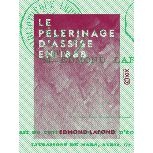 Le Pélerinage d'Assise en 1868