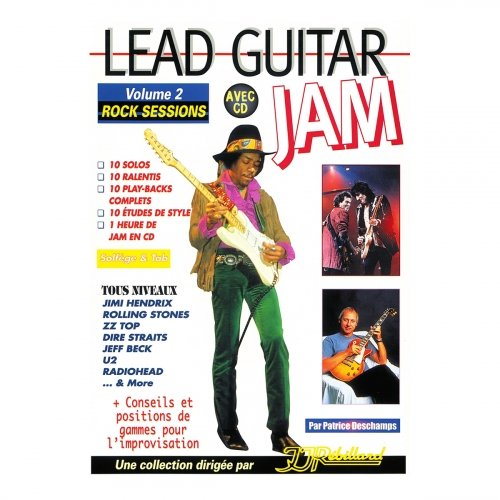 Lead guitar Jam volume 2