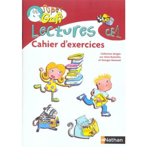 Lectures CE1 - Cahier d'exercices