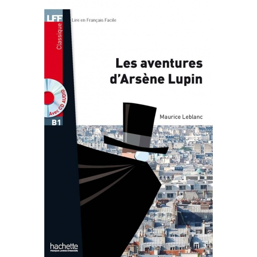 les aventures d'arsene lupin + cd audio mp3