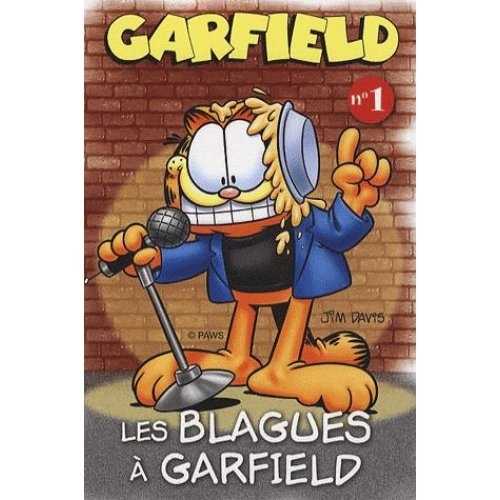 Les blagues à Garfield - N° 1