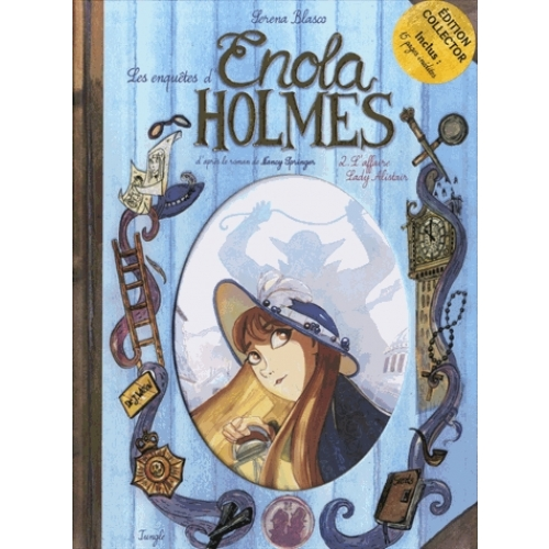 Les enquêtes d'Enola Holmes Tome 2 - L'affaire Lady Alistair