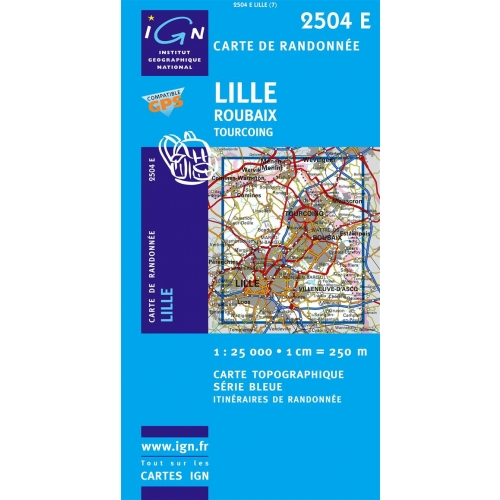 Lille - 1/25 000