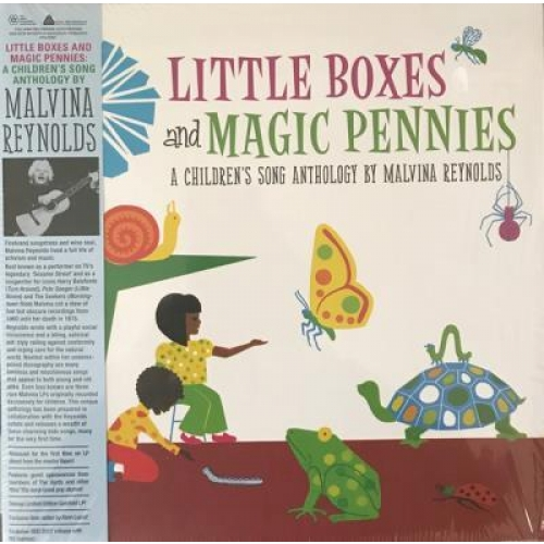 LITTLE BOXES AND MAGIC PENNIES AN ANTHOLOGY OF CHILDREN S SONGS