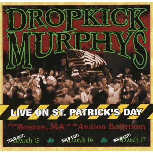 LIVE ON ST. PATRICK'S DAY