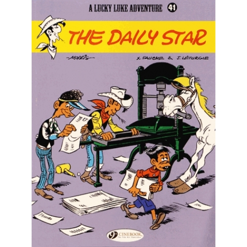 A Lucky Luke Adventure Tome 41 - The Daily Star