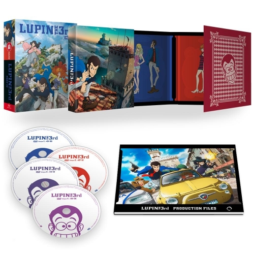 Lupin the 3rd, Part 4 - L'Aventure Italienne - (Édition Collector Intégrale)