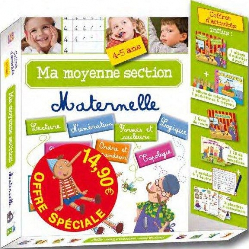 Ma moyenne section maternelle - 4-5 ans