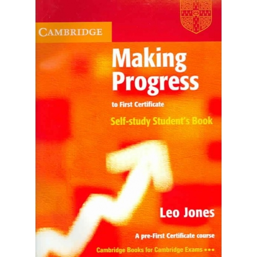 Making progress to first certificate student's book