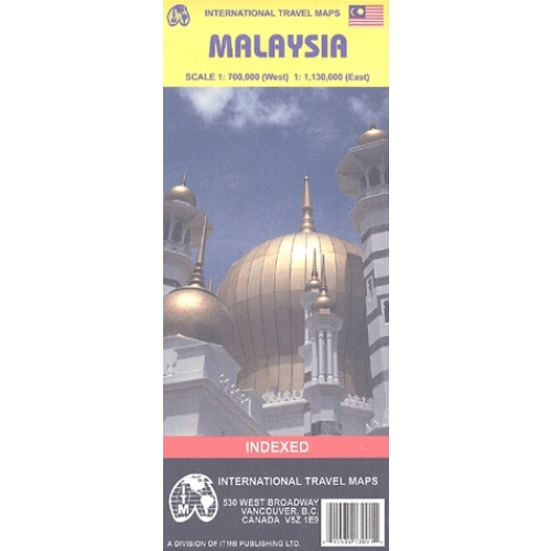 Malaysia - 1/700 000 (West) - 1/1 130 000 (East)