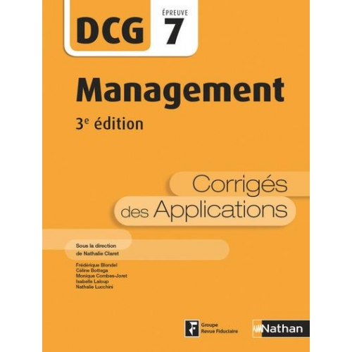 Management DCG 7 - Corrigés des applications