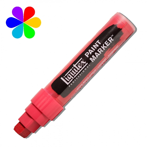 Paint Marker - Pointe large - carmin quinacridone
