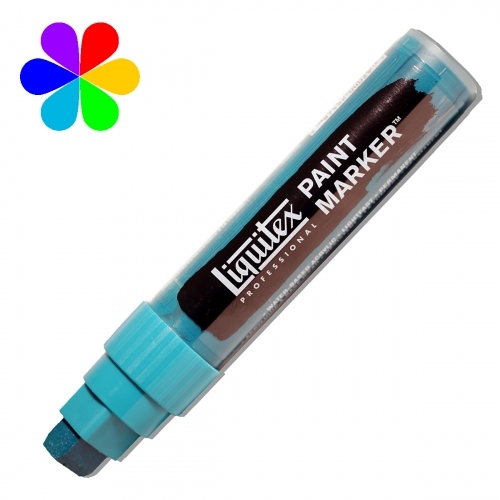Paint Marker - Pointe large - cobalt turquoise