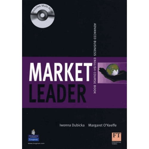 Market Leader Advanced 2d edition 2008 coursebook with self-study multi-ROM