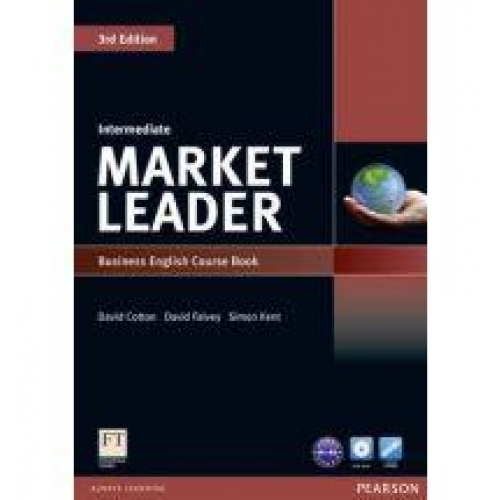 Market leader intermediate 3rd edition 2010 coursebook and DVD-ROM pack