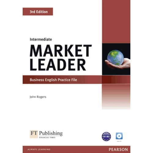 Market leader intermediate 3rd edition 2010 practice file and practice file CD pack