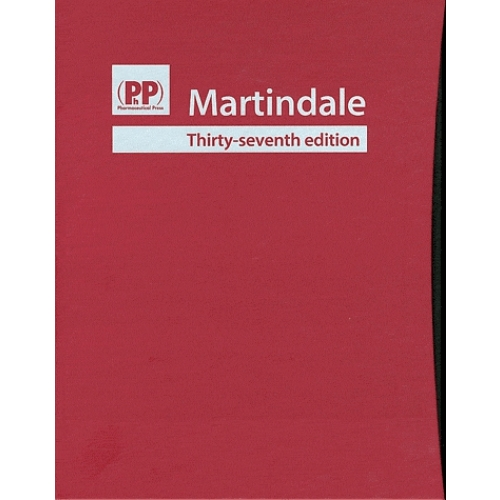 Martindale - 2 Volumes, Drud Monographs ; Preparations Manufacturers Indexes