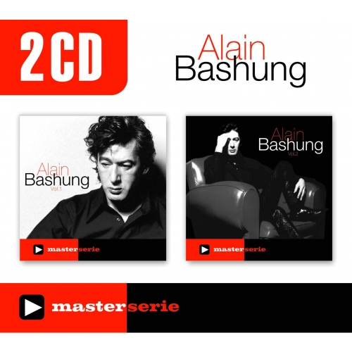 Coffret 2 CD - Alain Bashung - Master Serie Vol 1 / Master Serie Vol 2