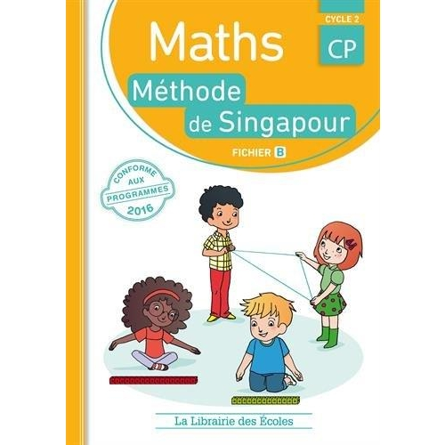 Maths CP Cycle 2 - Méthode de Singapour, fichier B