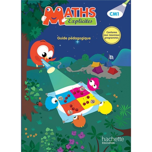 Maths Explicites CM1 - Guide pédagogique