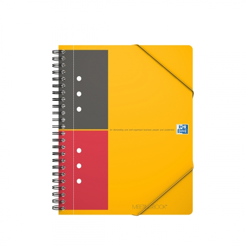 Cahier Meetingbook Oxford - 14,8x21 cm - 160 pages - ligné