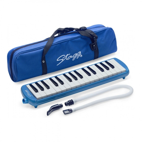 Stagg - Melodica 32 touches Bleu