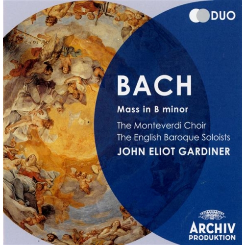 Coffret 2CD - Bach -  Messe en si mineur
