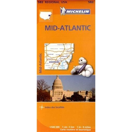 Mid-Atlantic - 1/500 000