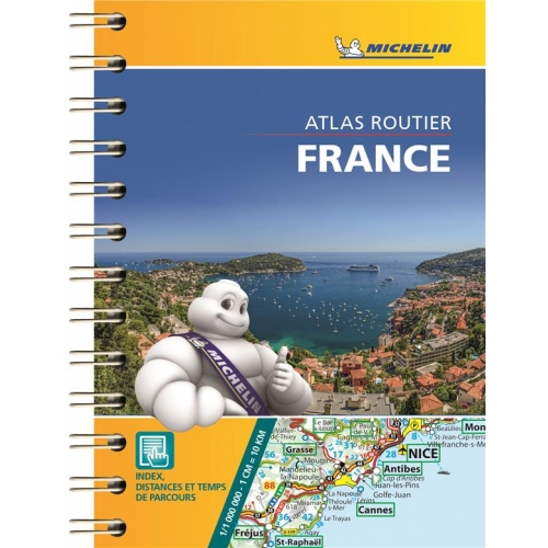 Atlas routier France - 1/1 000 000